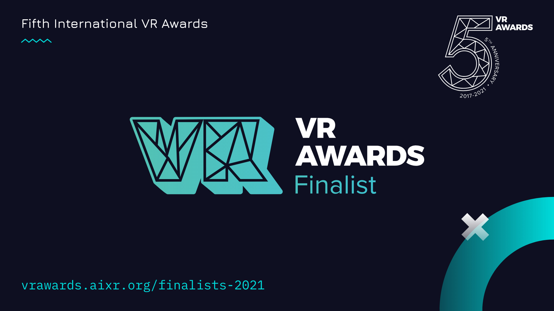 VR Awards Enterprise Solution of the Year Finalist